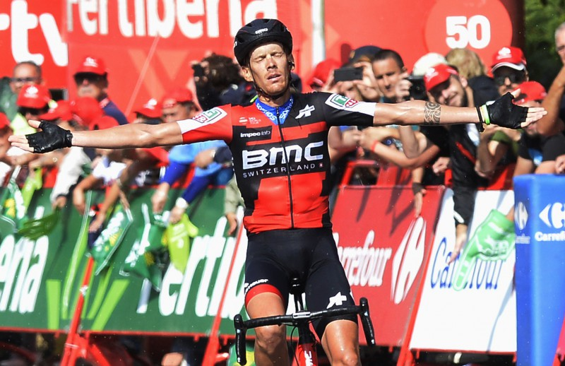 """Itālis de Marki svin uzvaru """"Vuelta a Espana"""" garākajā posmā"""