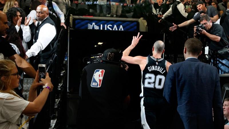 """""""Spurs"""" martā iemūžinās Džinobili kreklu"""