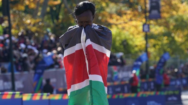 Kenijas skrējēja Keitani ceturto reizi triumfē prestižajā Ņujorkas maratonā