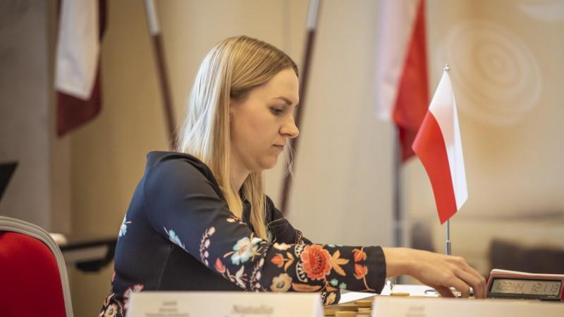 Poliete Sadovska Rīgā kļūst par pasaules čempioni dambretē