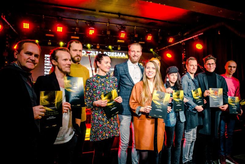 Zināmi Mūzikas ierakstu gada balvas Zelta Mikrofons 2019 nominantu piecinieki