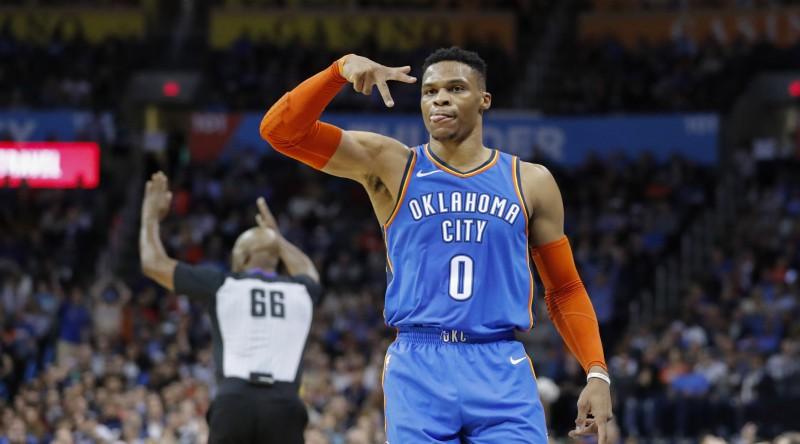 """""""Thunder"""" mājās izsēj +17 pret """"Lakers"""", Toronto un Vašingtona uzvar pēdējā sekundē"""