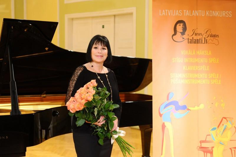 """Sākas ikgadējais muzikālais konkurss """"Ineses Galantes talanti"""""""