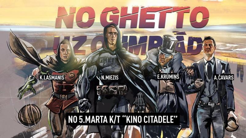 "Filmas ""No Ghetto līdz Olimpiādei"" pirmizrāde 5. martā"