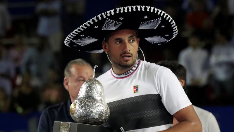 No domām par izstāšanos līdz titulam: Kirioss uzvar Akapulko turnīrā