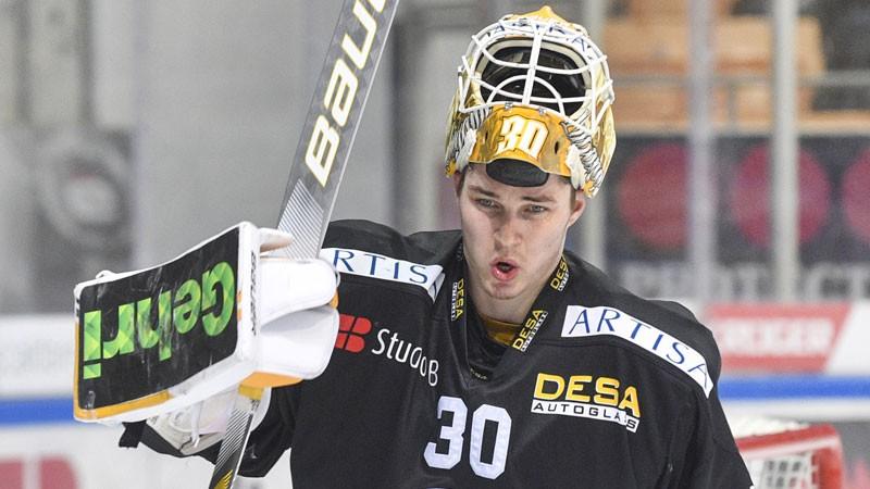 """Merzļikins: """"Gribu pierādīt, ka NHL varu uzkavēties, nevis tikai parādīties"""""""