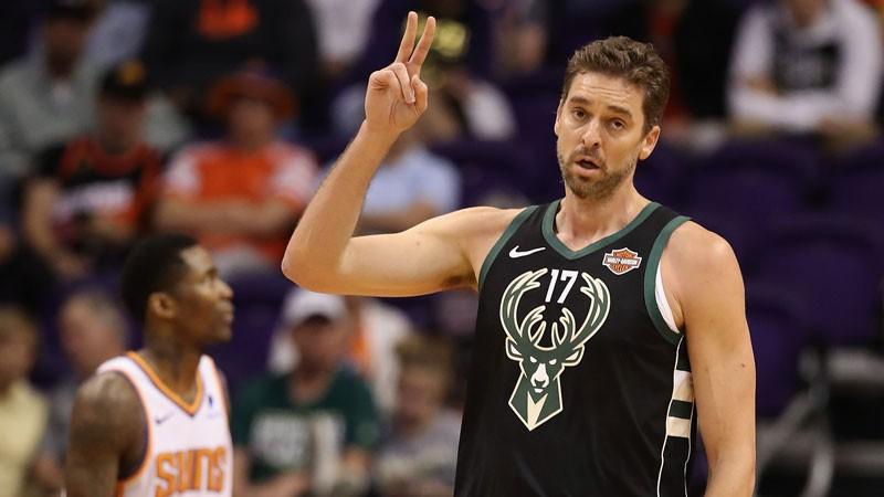 """Gazols pēc operācijas nevarēs palīdzēt """"Bucks"""" komandai play-off"""
