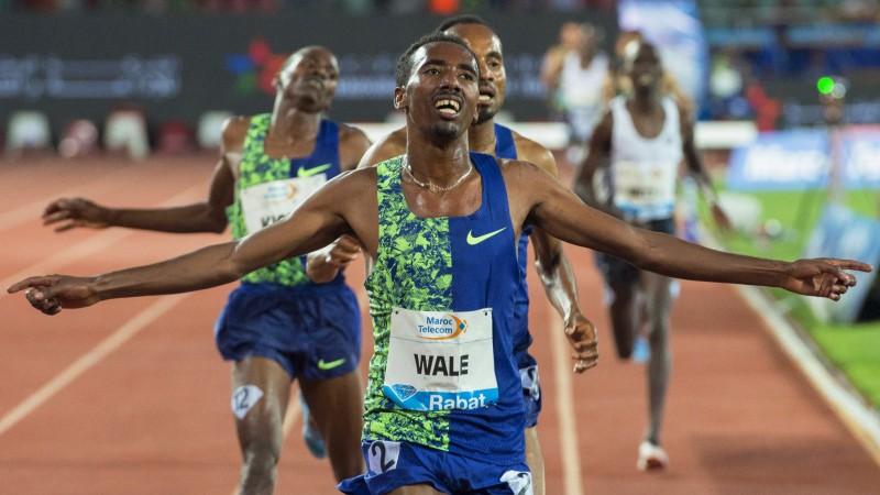 Dimanta līgas posmā Rabātā Dakress iesniedz protestu un uzvar, Veils labo Etiopijas rekordu