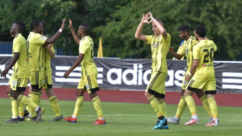 """""""Ventspils"""" spēles galotnē nostiprina uzvaru un uz Albāniju dosies ar +3 kabatā"""