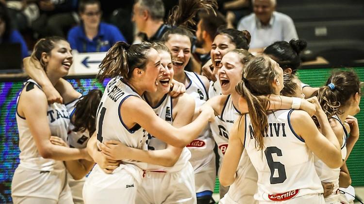 Itālija trīskārtēja Eiropas čempione, lietuvietes nosargā vietu U18 elitē