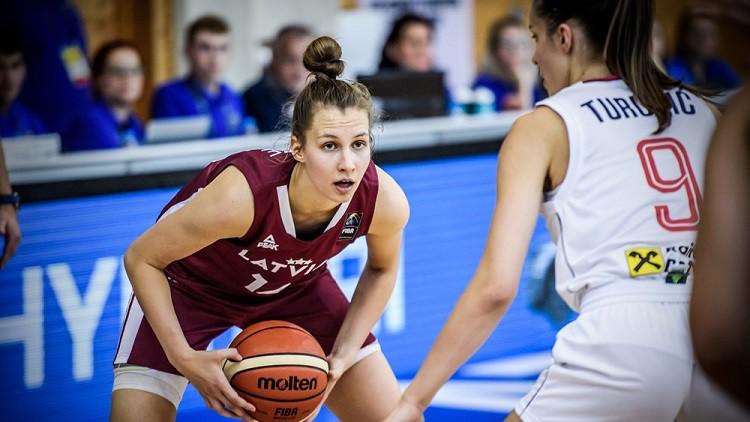 Šepte bloku princese, Ozola lieliska, Latvija noturas U20 elitē