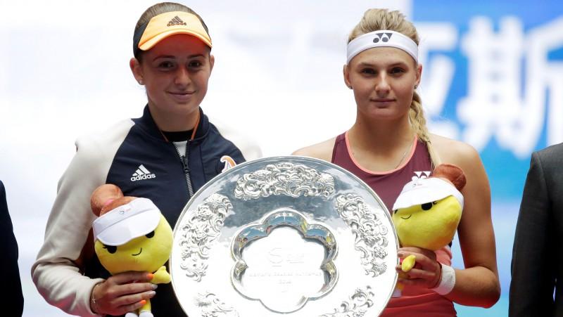 Ostapenko un Jastremska neizmanto iespējas supertaibreikā un zaudē Pekinas finālā