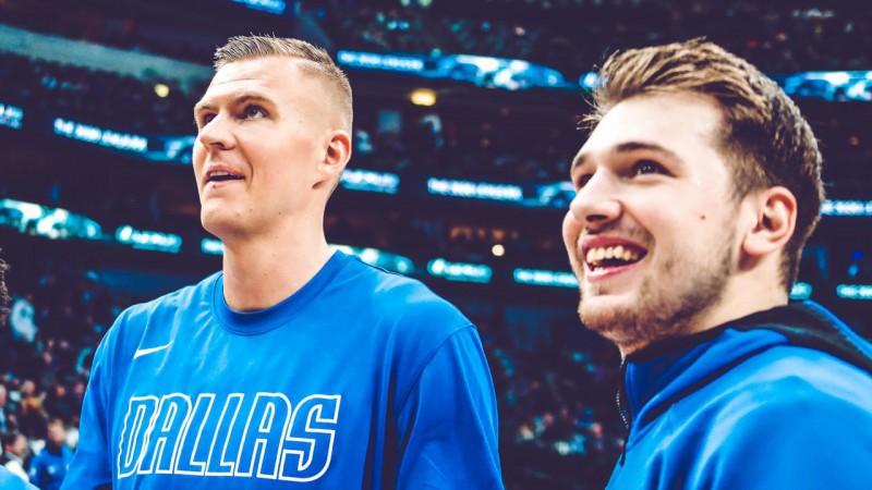 NBA burbuļa labāko duetu rangā Porziņģis un Dončičs ierindoti sestajā vietā