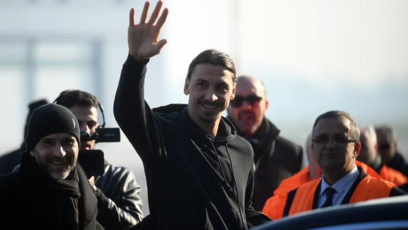 """Ibrahīmovičs pēc ierašanās Milānā: """"Vienmēr esmu teicis, ka šīs ir manas mājas"""""""