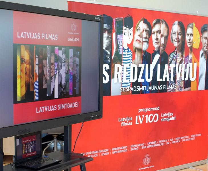 Simtgades filmas pieejamas Latvijas skolās