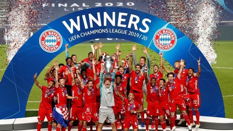 """""""Bayern"""" atstāj PSG uz nulles un triumfē Čempionu līgā"""