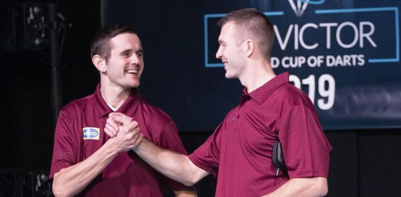 Mustafejevs izšķirošajā legā izrauj Latvijai pirmo uzvaru Pasaules kausā šautriņās