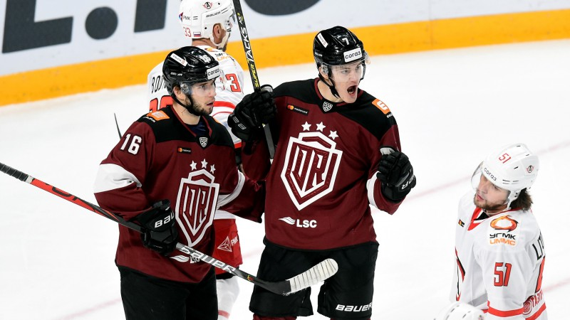"""Dinamo"" tiksies ar otro vājāko KHL komandu"