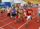 Foto: Vieglatlētika Skolēnu sporta spēļu programmā