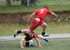 Foto: Ogres futbola čempionātā aizvadītas jau 10 kārtas