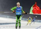 Vējš, sniegputenis un lieliskā Domračeva: Baltkrievija triumfē dāmu stafetē