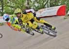 Eiropas BMX kausa pirmajā posmā Glāzeram trešā, Buldinskai septītā vieta
