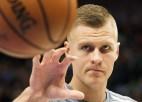 """Video: Porziņģis salādē 36 punktus, pieveicot Ņūorleānas """"Pelicans"""""""