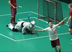 Video: Latvijas florbolisti kvalifikācijas turnīru noslēdz ar zaudējumu