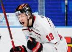 """Ābols ar 1+1 sekmē """"Örebro"""" otro uzvaru Zviedrijas 1/4 finālā, Kuldam pirmie sezonā"""