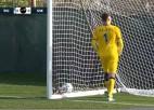 """Video: """"Riga'' pārbaudes spēles turpina bez uzvarām un vārtu guvumiem"""
