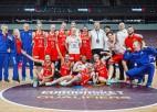 Baltkrievijas dāmas Rīgā nodrošina ceļazīmi, pēdējā ceturtdaļā tiek arī Slovākija