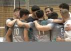 """Video: """"RTU/Robežsardze/Jūrmala"""" piecu setu cīņā pārspēja """"BigbankTartu"""""""