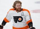 Merzļikina ''Blue Jackets'' aizmaina Atkinsonu pret Vorāčeku uz ''Flyers''