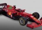 "Jauno F1 mašīnu prezentē ""Ferrari"""