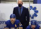 Girgensona ''Sabres'' lemj no amata atbrīvot galveno treneri Ralfu Krīgeru