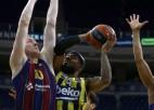 """Šmits un """"Barcelona"""" triumfē Eirolīgas regulārajā sezonā, Strēlniekam astoņi punkti"""