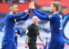 """FA kausa pusfinālā """"Chelsea"""" pieveic """"City"""" un izdzēš tās cerības uz perfektu sezonu"""