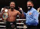 Andrade nosargā WBO titulu, Progreisa cīņa beidzas ar <i>tēlošanas</i> skandālu