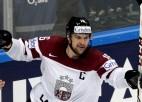 Latvijas hokeja izlase viesos mērosies spēkiem ar Slovākiju