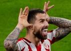 """Saviča vārti neglābj """"Atletico"""": līdere zaudē Bilbao un turpina sēt pārsvaru"""