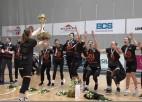 """Video: Klakockas pēdējā spēlē profesionālajā karjerā, """"TTT Rīga"""" astoto gadu pēc kārtas uzvar LSBL finālā"""