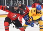 PČ U18 pusfināli: Kanāda pret iepriekš sagrauto Zviedriju un Somija pret Krieviju