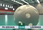 """Video: FK """"Ķekava"""" rībina vārtu konstrukciju, atspēlējas un uzvar"""