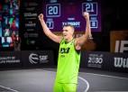 Latvijas 3x3 basketbola rangos vadībā Miezis, Kāpostiņš (U23) un Osis (U18)