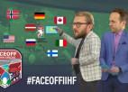 """Video: """"FaceOff"""" pirms PČ sākuma: Čempionu titula izredzes"""