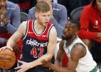 """Bertānam blāva spēle, """"Wizards"""" nespēj apturēt Teitumu un piedzīvo zaudējumu Bostonā"""