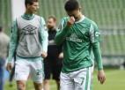 Arokodares ''Koln'' dodas uz pārspēlēm, ''Werder'' zaudē un izkrīt no Bundeslīgas