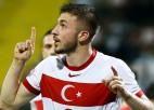 Turcija atspēlējas un pirmajā pārbaudes spēlē pieveic Azerbaidžānu