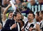 """Treneru staigāšana Itālijā: Allegri uz """"Juventus"""", Indzagi uz """"Inter"""", Spaleti Neapolē"""