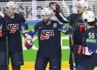 ASV parāda augstu individuālo meistarību un 1/4 finālā sagrauj Slovākiju
